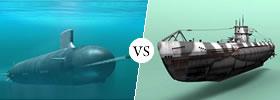 Submarine vs U-boat