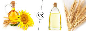 Difference between Sunflower Oil and Rice Bran Oil