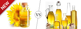Difference between Sunflower Oil and Vegetable Oil