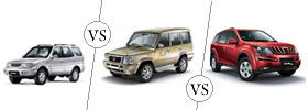 SUV vs  MUV vs XUV