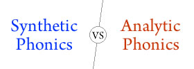 Difference between Synthetic Phonics and Analytic Phonics
