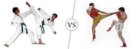 Difference between Taekwondo and Kickboxing