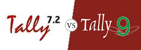 Difference between Tally 7.2 and Tally 9