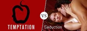 Difference between Temptation and Seduction