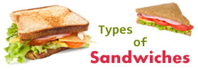 Different Types of Sandwiches