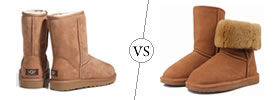 Difference between Uggs and Bearpaws