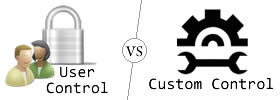 Difference between User Control and Custom Control