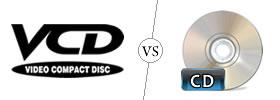 VCD vs CD
