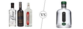 Vodka vs Gin