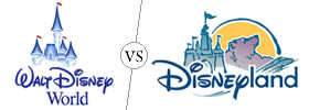 Difference between Walt Disney World and Disneyland