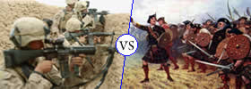 Difference between War and Battle