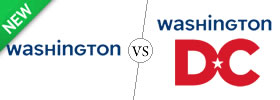 Washington vs Washington DC