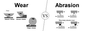 Wear vs Abrasion