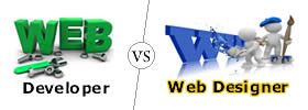 Web Developer vs Web Designer