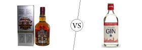 Whiskey vs Gin