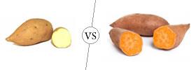 White vs Orange Sweet Potato