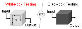 Difference between White-box and Black-box Testing