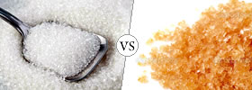 White Sugar vs Brown Sugar