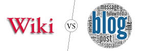 Difference between Wiki and Blog