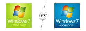Windows 7 Home Basic vs Professional