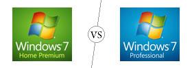 Windows 7 Home Premium vs Professional