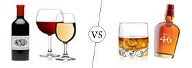 Difference between Wine and Whisky