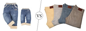 Difference between Winter Jeans and Summer Jeans