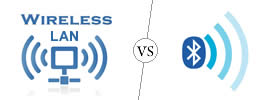 Difference between Wireless LAN and Bluetooth