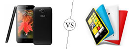 XOLO Q800 vs Nokia Lumia 520