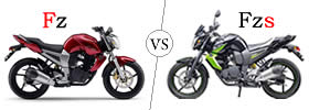 Difference between Yamaha FZ and Yamaha FZS