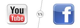 YouTube vs Facebook