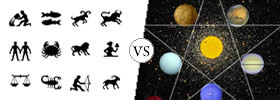 Difference between Zodiac and Astrology