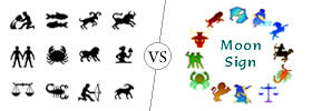Difference Between Zodiac Sign and Moon Sign