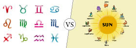 Difference between Zodiac Sign and Sun Sign