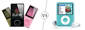 Difference between Zune and iPOD