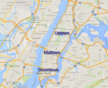 Downtown vs Uptown
