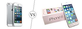 iPhone 5 vs iPhone 6