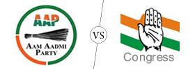 AAP vs Congress