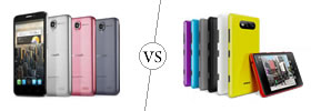 Alcatel One Touch Idol vs Nokia Lumia 820