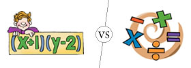 Algebra vs Arithmetic