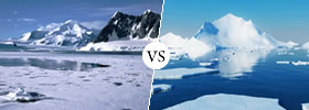 Antarctic vs Arctic