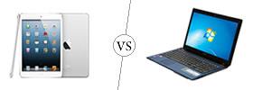 Apple iPad vs Laptop