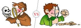 Archaeologist vs Geologist