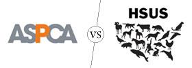 ASPCA vs HSUS