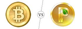 Bitcoin vs Peercoin