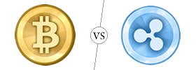 Bitcoin vs Ripple