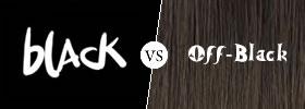 Black vs Off-Black