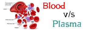 Blood vs Plasma