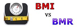 BMI vs BMR