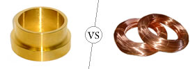 Brass vs Copper